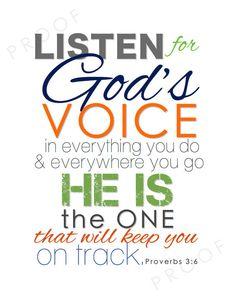 faith, christian art, god voic, nursery art, inspir, proverb 36, quot, christian scripture, christmas gifts