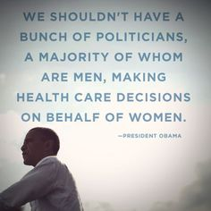 Say you stand with the candidate who trusts women to make our own health care decisions: http://OFA.BO/cmAHWs