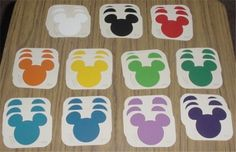 Paint Chip Samples and Swatches
