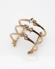 Triple Bone Cuff by Low Luv x Erin Wasson