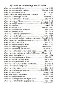 spiritual directory assistance! Love it!!