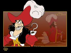 """Captain Hook from """"Peter Pan"""""""