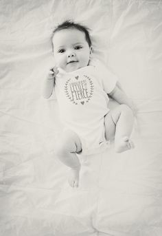 Though she be but little she is fierce - perfect onesie for a baby girl gift