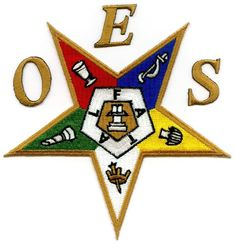 oes | Order of the Eastern Star Patch