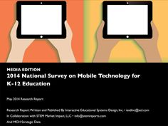 Study: The Reality Of Mobile Technology In K-12