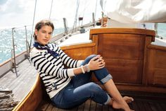 Stand out under the summer sun with nautical-inspired hues from Lauren Ralph Lauren