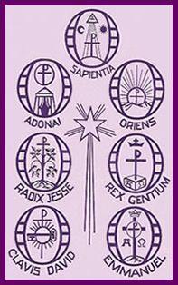 Catholic Culture : Advent : Workshop : Advent - O Antiphons - Symbols