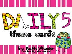 Owl Daily Five- full size daily 5 cards (use w/ clothespins for choice), name tags, small daily 5 (pocket chart assignment), anchor charts, desk tags (label baskets w/ materials), bookmarks