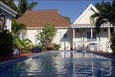 caribbean hous, cottag, harbour island, nevi island