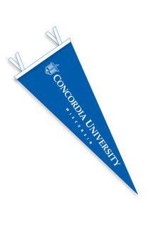 Product: Concordia University Wisconsin 12'' x 30'' Pennant $16.00
