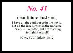 dear future wife quotes - photo #18