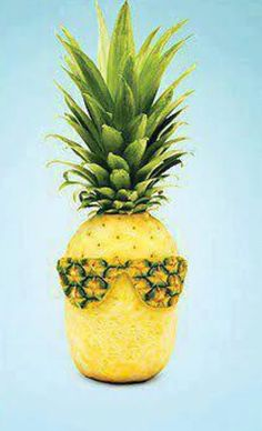 Pineapple is so cool and refreshing.