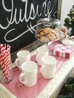 Hot Cocoa Bar from A Thoughtful Place. She Knows TV: HomeStretch Episode