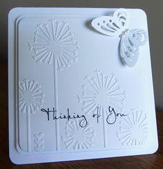 White On White card*