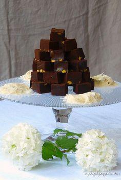 Chocolate Pistachio Turkish Delight