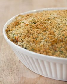 Seasonal vegetables and healthy orzo take center stage in this family-friendly casserole dish.