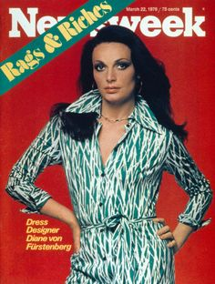DVF | 1976: Diane on the cover of Newsweek