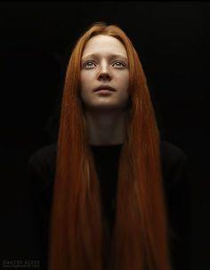 Dmitry Ageev long red hair
