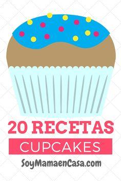 20 recetas de cupcakes absolutamente deliciosas => haz PIN para guardar ! :)???