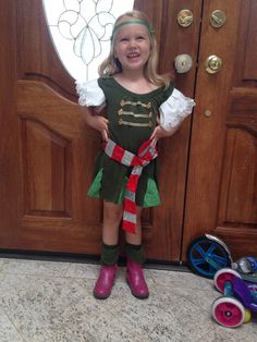 Pirate Fairy homemade costume. My daughter requested this for a friend
