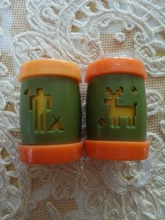 Salt and Pepper Shakers, early 1970s, St Labre Indian School, Ashland, Montana