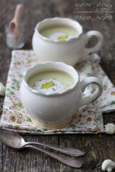Cinnamon and Thyme: Cauliflower coconut soup