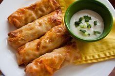 appet, food, yummi, recip, chicken roll