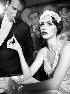 Jean Dujardin & Berenice Bejo
