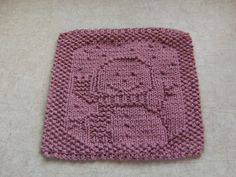 HPIM0739 by cloverlaine, via Flickr craft, cloverlain, knitting patterns, crochet, dishcloth, snowbabi cloth, christmas snowman, dish cloth, knit pattern