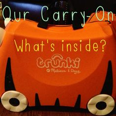 Ideas for what to put in a carry-on for kids or for a road trip!