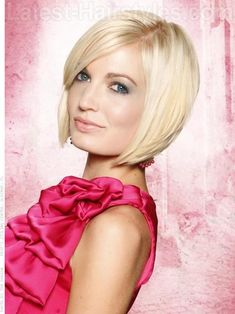 A short and sexy bob hairstyle for spring 2012