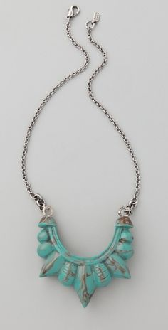 Pamela Love Tribal Spike Necklace - StyleSays