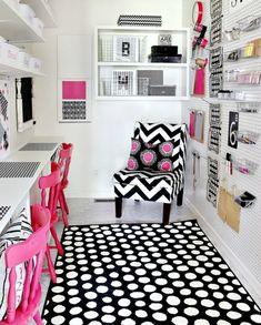 ) ) 20 Creative Craft Room Organization Ideas at Tip Junkie ( (