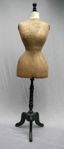 vintage tailor 39 s mannequins on pinterest vintage dress forms corsets and sewing rooms. Black Bedroom Furniture Sets. Home Design Ideas