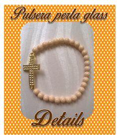 pulsera con perla glass details souvenirs facebook