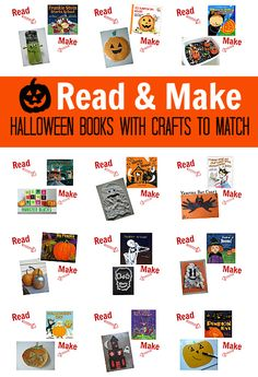 book crafts for kids, halloween crafts, children books, kid crafts for october, books for kids, halloween ideas, kids book crafts, toddler craft, halloween books