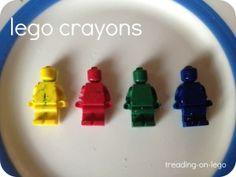 Easy lego crayons