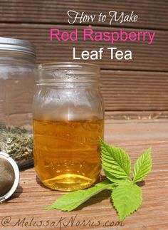 5 benefits of and how to make red raspberry leaf tea