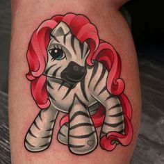 I love this.....Fantastically solid My Little Pony/Zebra piece by Michelle Maddison