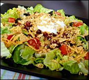Taco Salad--4 pts.