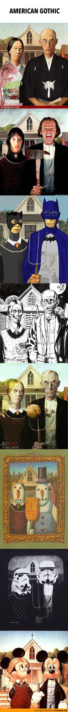 Recopilación de American Gothic.