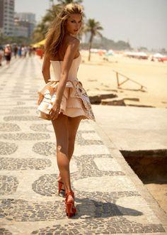 Alessandra Ambrosio. Brazilian model <3 love !