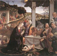 Natività di Cristo - Domenico Ghirlandaio