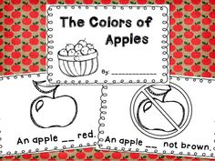 The Colors of Apples freebie! appl theme, map, appl book