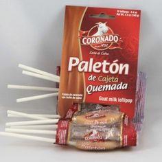 Tira Paleton de Cajeta 10 pc
