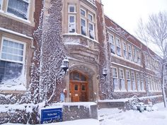 December   Welles Hall  SUNY Geneseo  Love this shot