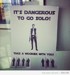 Take a wookie with you!