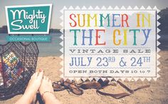 The Mighty Swell Pop Up Shop! A collection of edited vintage being sold in Minneapolis July 23rd & 24th!