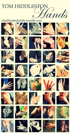 This is the best thing I've seen all day. The hands of Hiddles. Oh my god.