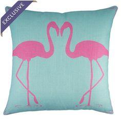 Flamingo Pillow I